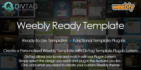 Weebly showcase examples divtag templates party for Free weebly themes and templates